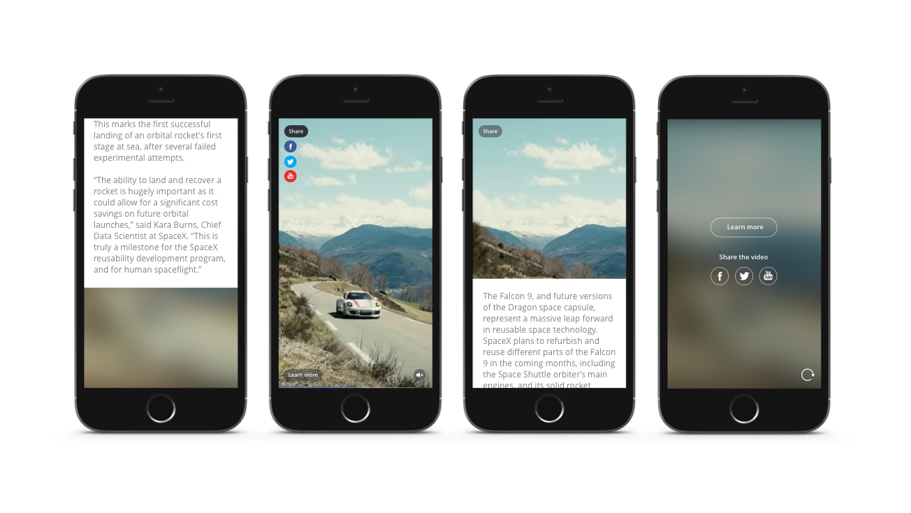 youtube lancia i vertical video ads
